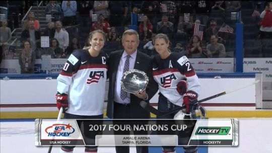 Team USA Win Four Nations Cup 2017