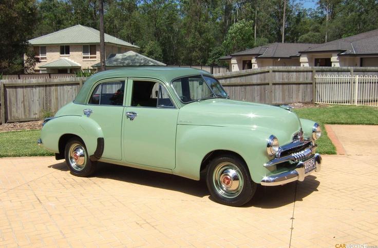 car, a 1953 FJ Holden | stidge.com