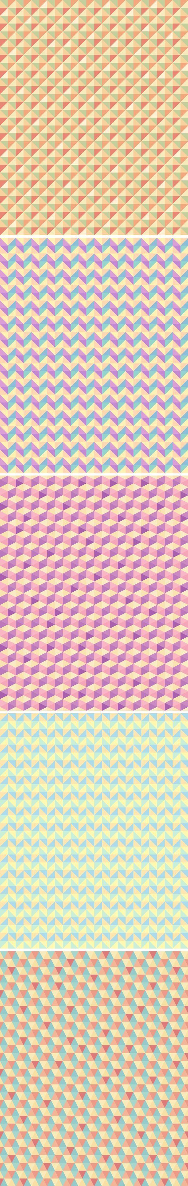 5 Seamless Polygon Backgrounds бесплатно на seedraft.ru