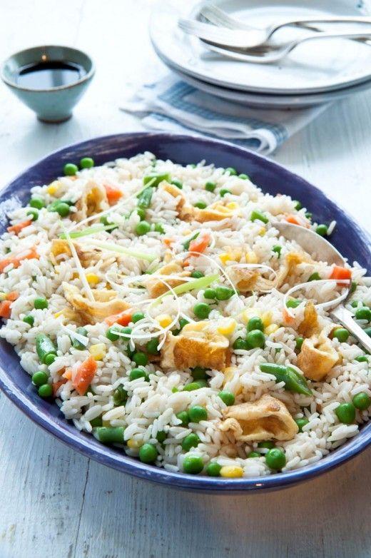 Egg Fried Rice recipe http://thehappyegg.co.uk/egg-fried-rice/