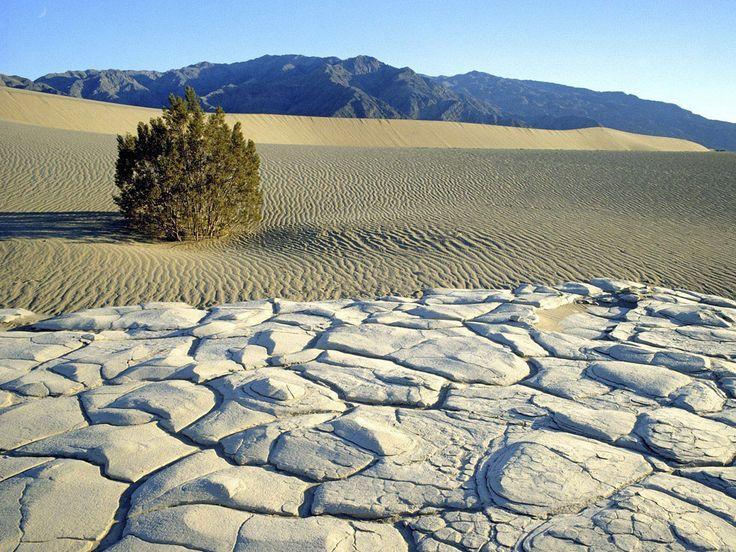 El Valle de la Muerte – Estados Unidos Foto Wallpaperweb.org