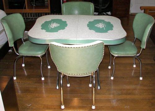 216 best vintage kitchen tables images on pinterest vintage vintage kitchen table chairs workwithnaturefo