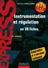 Patrick Prouvost - Instrumentation et régulation en 30 fiches. - Agrandir l'image