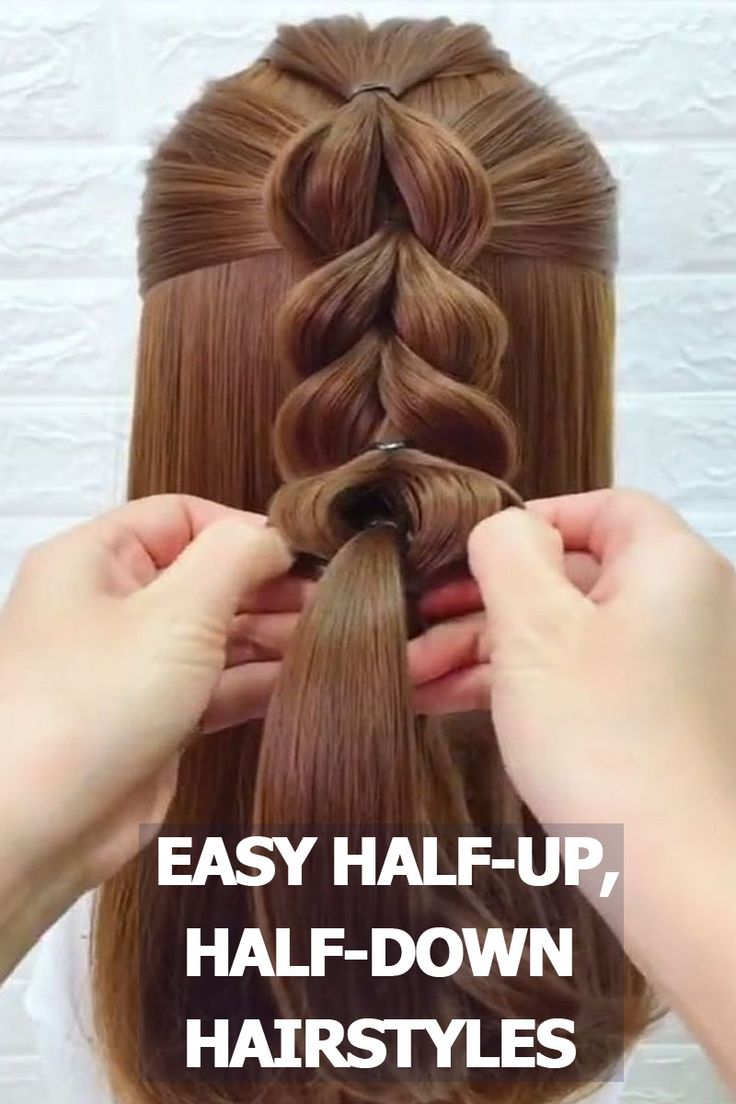 5 Easy Half-Up, Half-Down Hairstyles Only Take Minutes To Achieve