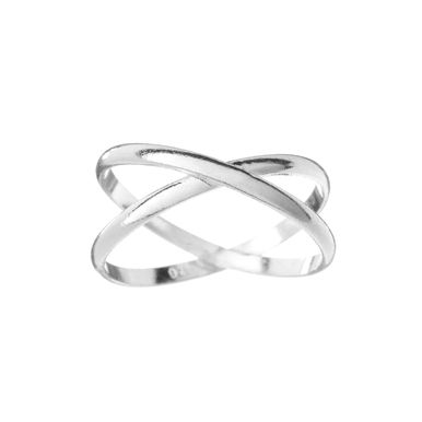| Criss Cross ring, handcrafted in sterling silver | #sterlingsilver #crisscross #ring #handmade www.pinchandfold.com