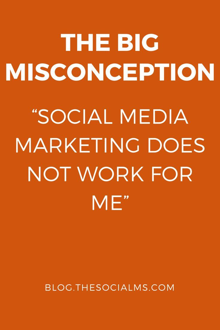 Pushing a button is not enough in social media marketing. This assumption leads many people into believing social media marketing would not work for them.
