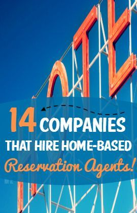Do you want to work at home taking reservations for airlines, car rental companies, or hotels? Here's a list of 14 legit companies that regularly hire home-based reservation agents. Money Making Ideas #Money