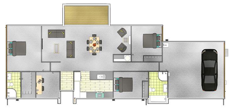 NIKAU 167 - Kitset Homes NZ
