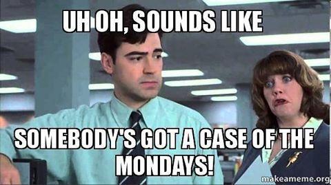 Got Mondays? #marketing #marketingdigital #marketingonline #marketingplan #marke…