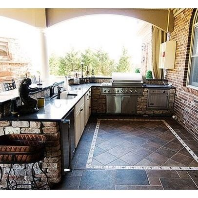 Outdoor Kitchen Design Ideas, Pictures, Remodel, and Decor