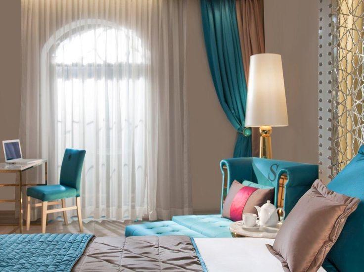 Turquoise Room #istanbul #istanbulhotels #sultanahmet #luxuryroom #turquoiseroom #designhotel