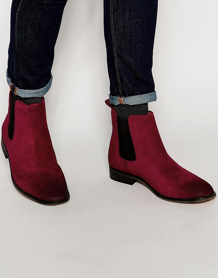 Bellfield Suede Chelsea Boots at asos.com