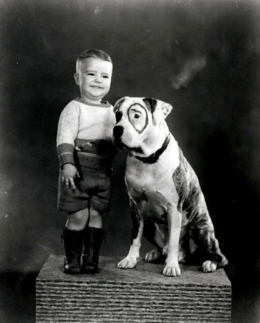 Spanky and Petie The Dog