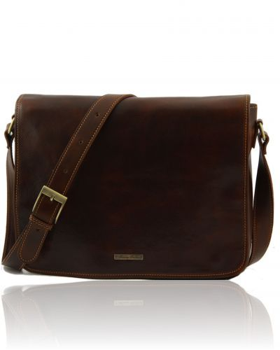 MESSENGER DOUBLE TL90475  Freestyle leather bag - Borsa in pelle Freestyle