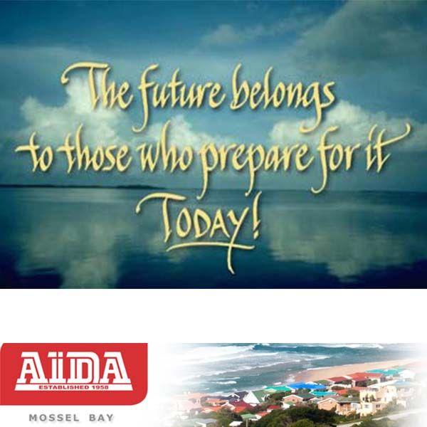 Start to prepare for your future today. #prepare #future