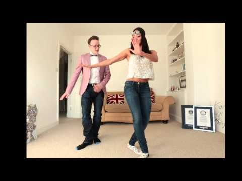 Steps for the Charleston Dance : Dance Lessons - YouTube