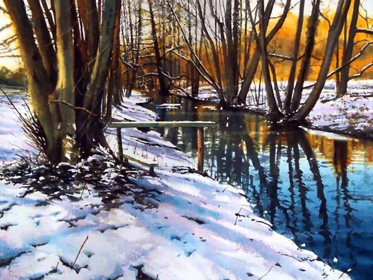 Joe Francis Dowden...love his way of painting water!