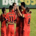 Liga BBVA de España: Barcelona goleó al Levante y extendió su racha triunfal en la Liga española
