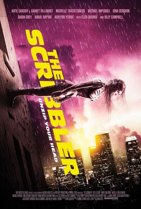 Tráiler y póster de 'The Scribbler'