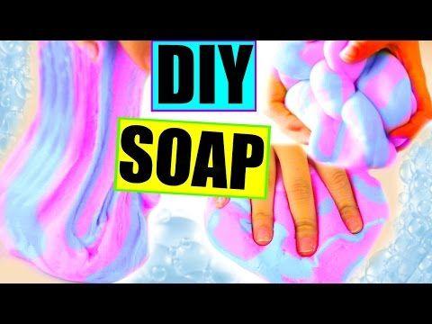 子供工作☆スライム石鹸の作り方♡ぐにょぐにょ | Handful