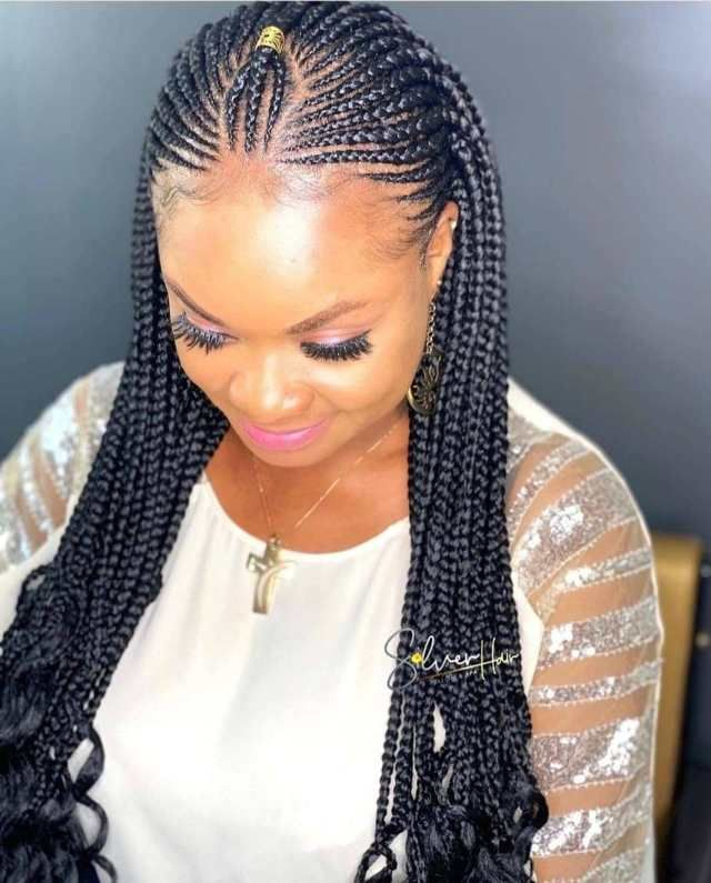 Latest Black Braided Hairstyles 2020 Best Braided Hairstyles 2020 9 In 2020 Cool Braid Hairstyles Braided Hairstyles Latest Braided Hairstyles