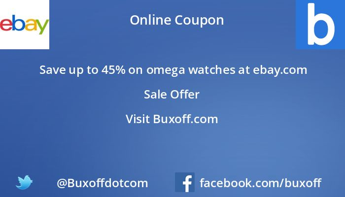 Latest ebay-com Coupon on Buxoff Visit to know more