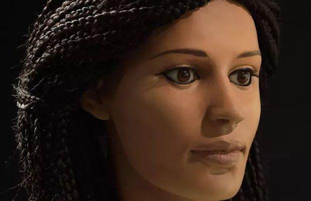 ARKEOFİLİ /// Antik Mısır Mumyasının Suratı Üç Boyutlu Yazıcıyla Canlandırıldı