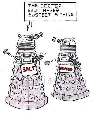 Dalek disguise doctorwho