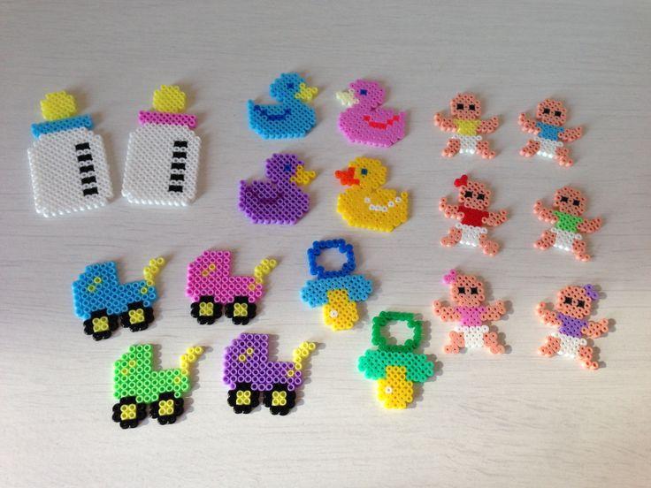 Baby crafts hama perler beads by Sasha Nielsen