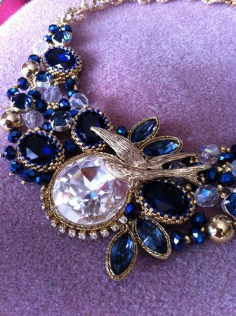 blu oro e crystal