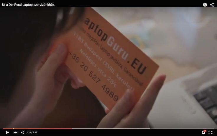 Hogy találsz meg minket? - Készítettünk egy kis rövidfilmet ami segít abban, hogy megtaláld Dél-Pesti szervizünket.