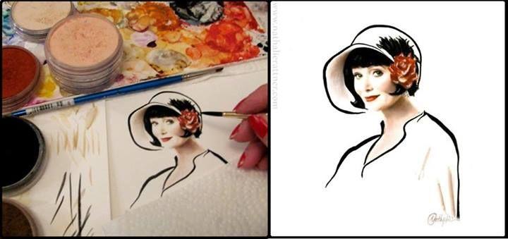 Pubg Fanart Acrylics Paper: 17 Best Images About #MissFisher Fans On Pinterest