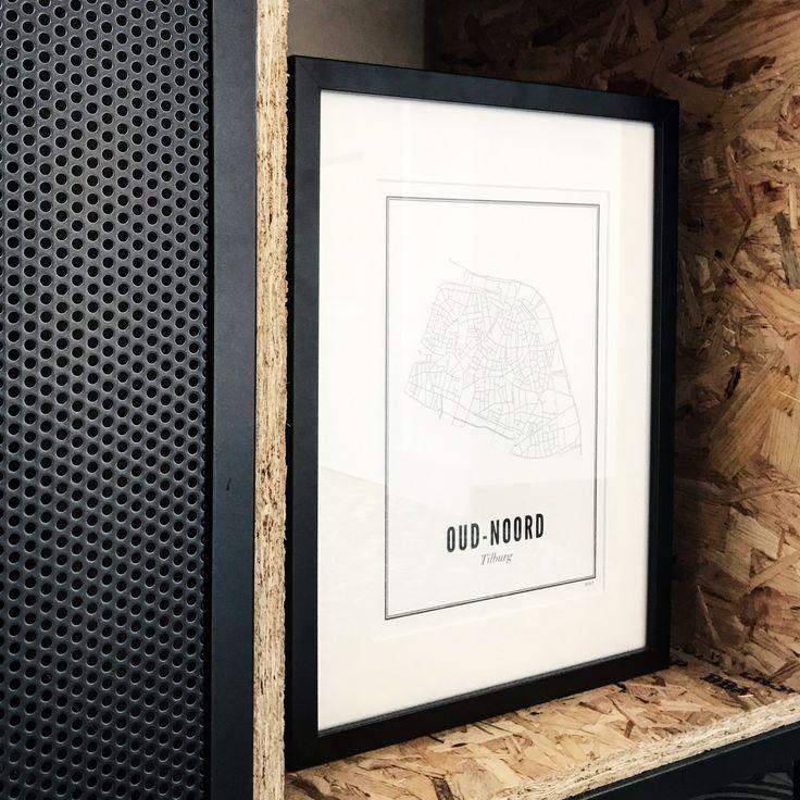 Wijck prints Custom with OSB wood shelves box made