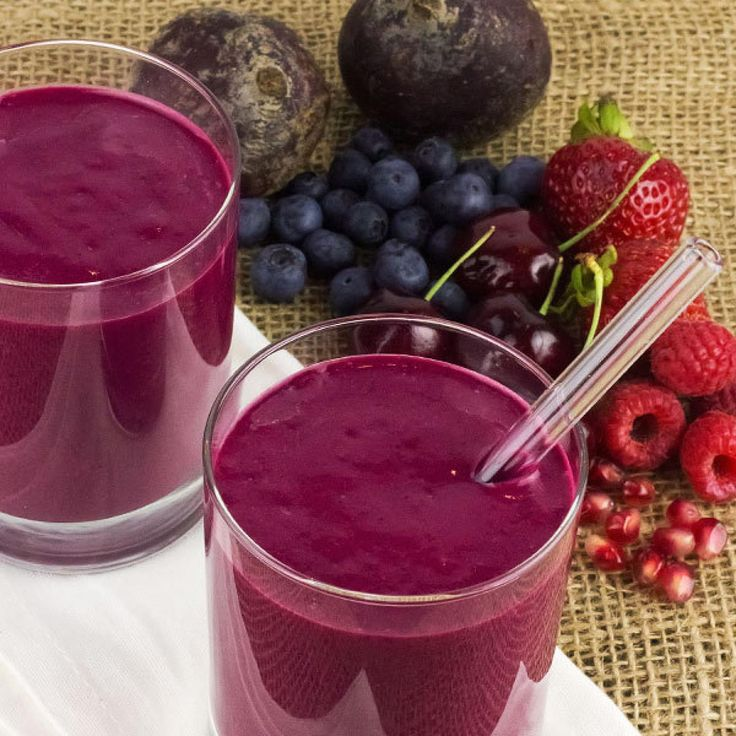 Purple Power Smoothie - Fitnessmagazine.com