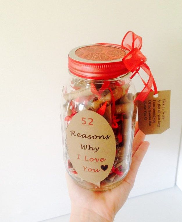 Valentine Reasons I Love You Notes In A Jar Inturage