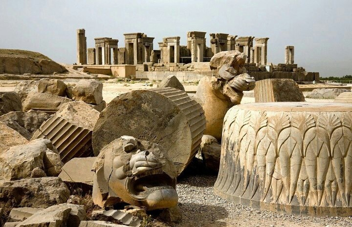 Image result for persian empire ruins