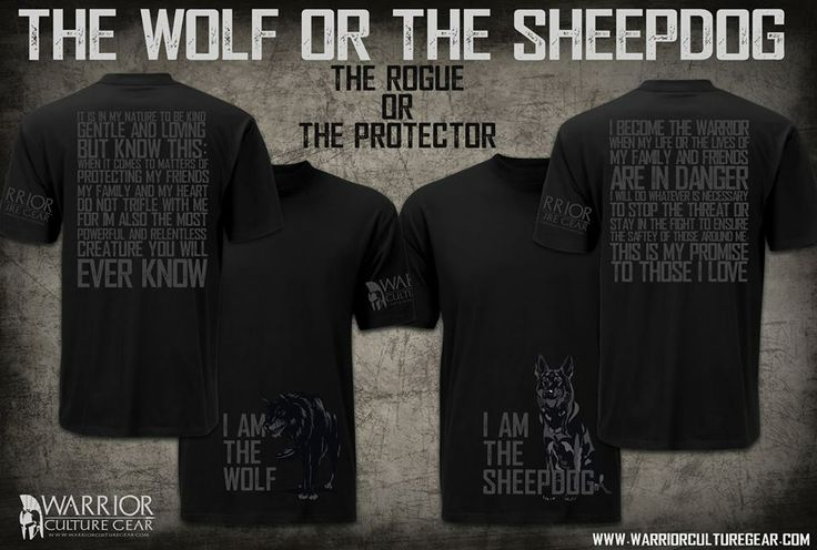 The wolf the sheepdog | The Way of the Warrior | Pinterest