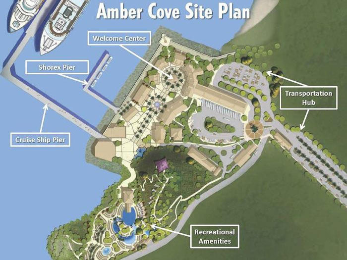 Opening October 2015 - Carnival's Amber Cove port is located in the heart of the Dominican Republic's North Coast just outside the historical town of Puerto Plata,