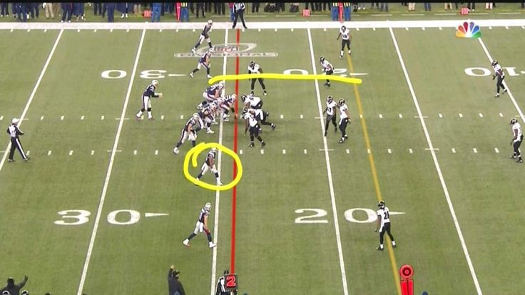 John Harbaugh was mad at the referees for allowing the Patriots to run a play that was 100 percent legal.