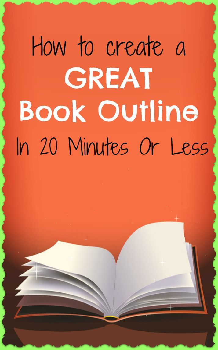 Writing a book outline? This is a very simple way to create a great book structure.