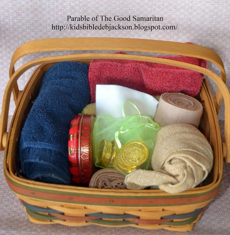 Bible Fun For Kids: Parables of Jesus VBS: Day 4 The Good Samaritan