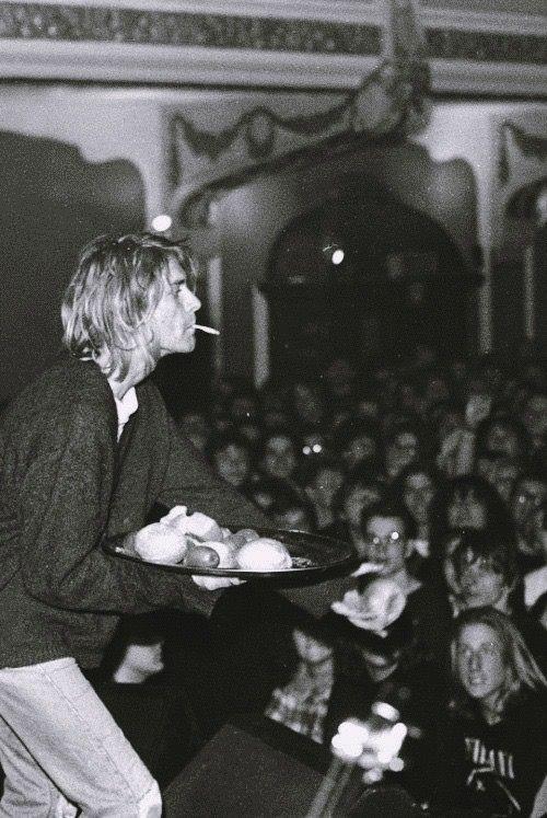 Kurt Donald Cobain. Nevermind