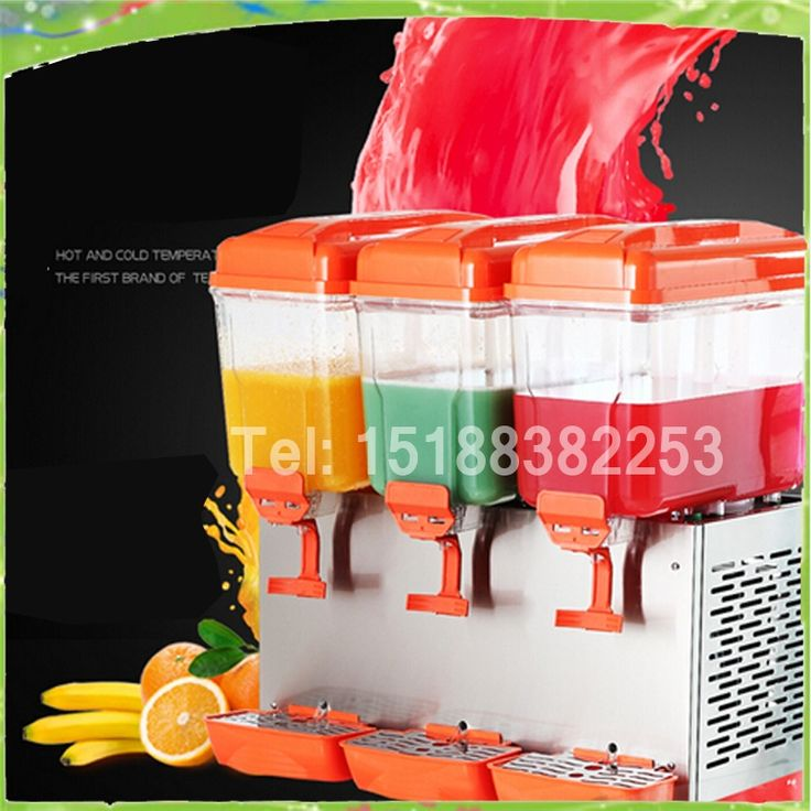 1219.00$  Watch now - http://alihd6.worldwells.pw/go.php?t=32694785892 - Free shipping 3 tanks  cold drink dispenser/slush machine/ Sparying juicer ice beverage dispenser for sale