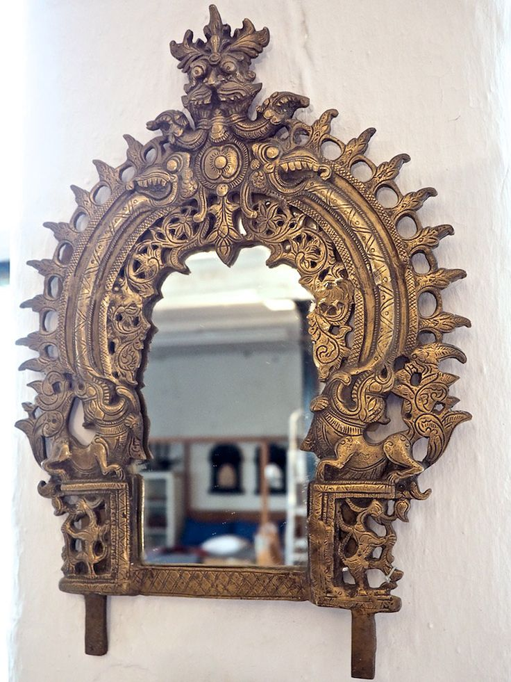 tibetan mirror from bringing it all back home httpbringingitallbackhomeco - Back Home Furniture
