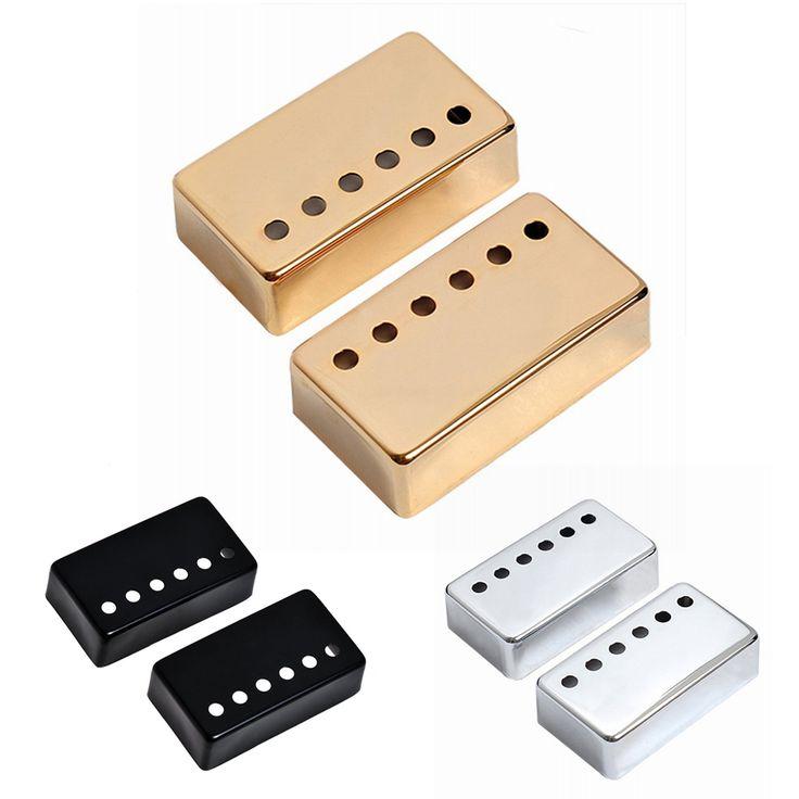 $4.01 (Buy here: https://alitems.com/g/1e8d114494ebda23ff8b16525dc3e8/?i=5&ulp=https%3A%2F%2Fwww.aliexpress.com%2Fitem%2F2pcs-Chrome-Metal-Humbucker-Pickup-Cover-50-52mm-For-LP-Style-Electric-Guitar-Golden-Silver-Black%2F32681431249.html ) 2pcs Chrome Metal Humbucker Pickup Cover 50/52mm For LP Style Electric Guitar Golden Silver Black Gold Free Shipping FE5# for just $4.01