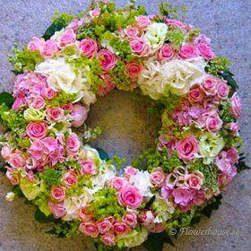 Begravningskrans Evighet - begravningskrans - Blommor till begravning