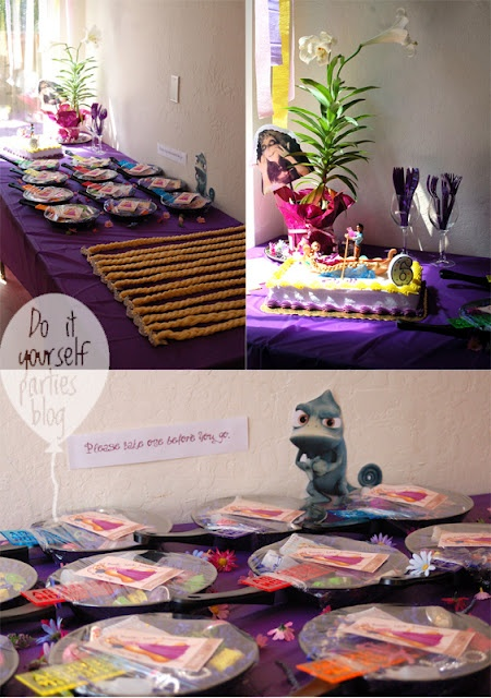 Tangled birthday party ideas Mer