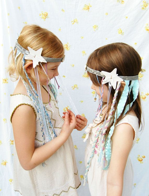 Splendid Mermaid Headband Children's dress by splendidfishbones