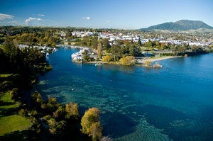 Lake Taupo, Taupo-visited here on one of our trips to New Zealand