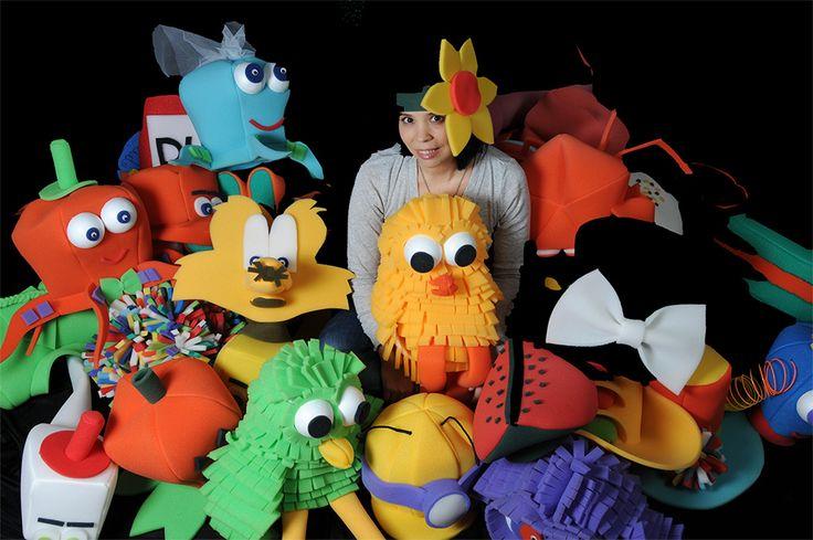 Gorros Lokos - gorros, sombreros, pelucas y accesorios en gomaespuma